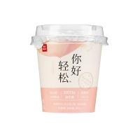 乐纯白桃茉莉益生菌发酵乳100g
