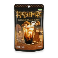 韩国汤姆农场黑糖奶茶味扁桃仁30g