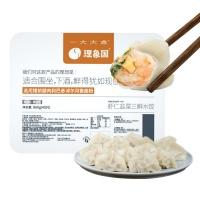理象国虾仁三鲜+猪肉白菜水饺800g×2