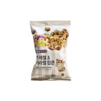 韩国进口椒盐焦糖味爆米花75g