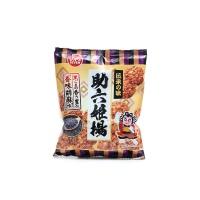 日本进口芝麻味粳米脆饼70g