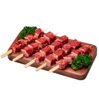 新西兰冰鲜安格斯牛肉串400g(4串)