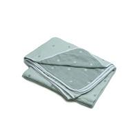 棉之选六层纱布毛巾被绿色150*200cm