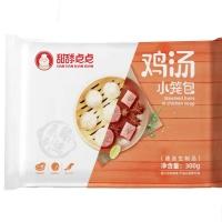 传统鸡汤小笼包300g(12个)