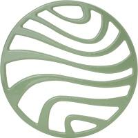 归禾器铸铁珐琅锅垫浅绿色22cm