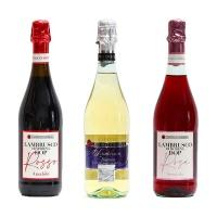 意大利蓝布鲁斯科低泡葡萄酒混合装