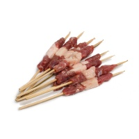 新疆哈萨克羔羊竹签羊肉串250g(10串)