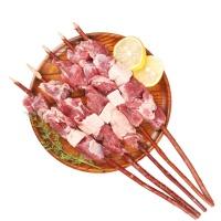 新疆哈萨克羔羊红柳羊肉串500g(10串)