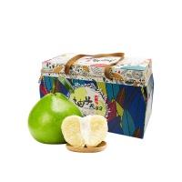 柚子夫妇青柚2粒礼盒